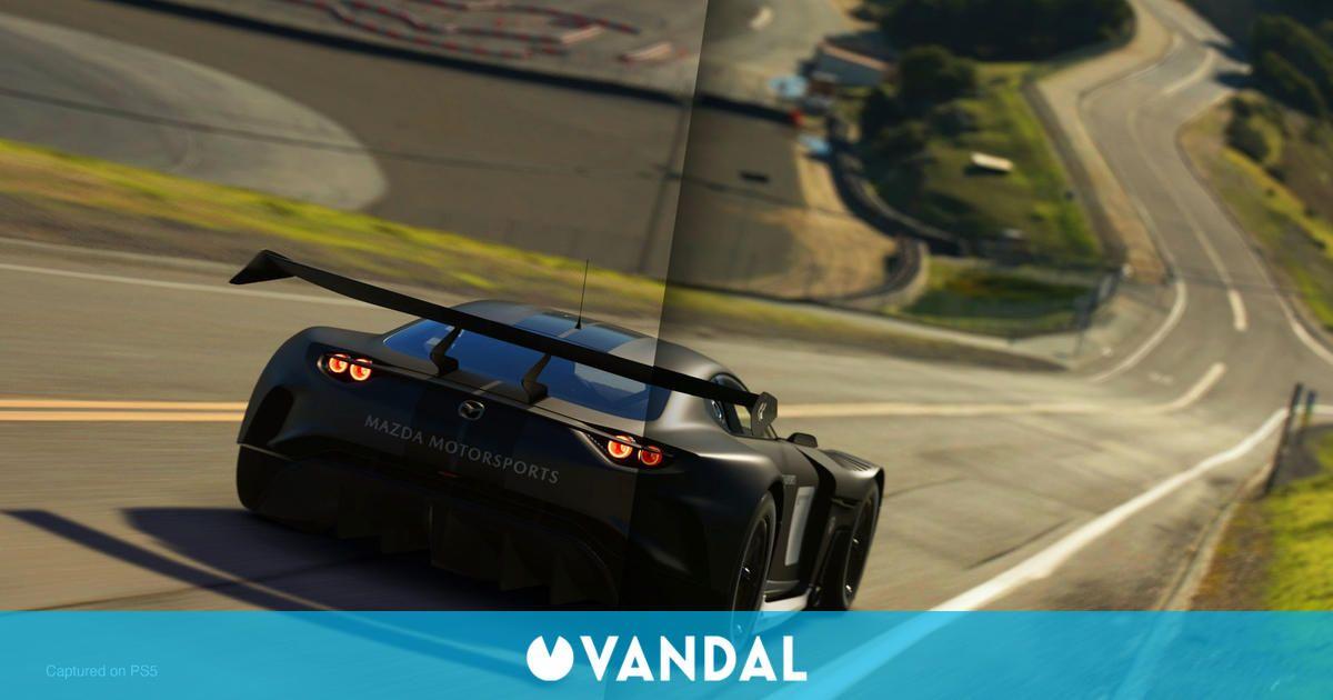 Comparan los gráficos de Gran Turismo 7 con los de Gran Turismo Sport
