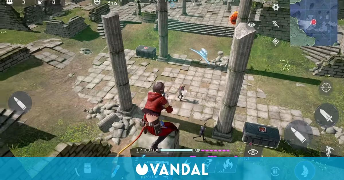 El battle royale Final Fantasy VII: The First Soldier muestra un nuevo gameplay en el TGS
