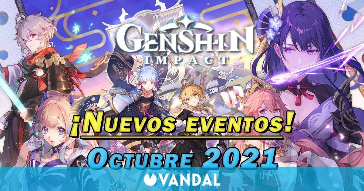 Genshin Impact: Nuevos eventos y gachapón de octubre 2021; fechas y detalles