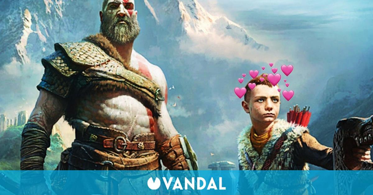 God of War Ragnarok esconde un adorable guiño al juego de 2018 en el diseño de Atreus