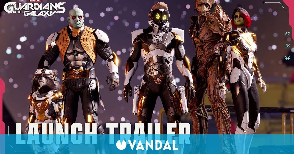 Guardians of the Galaxy muestra su tráiler de lanzamiento a ritmo de Mtley Cre