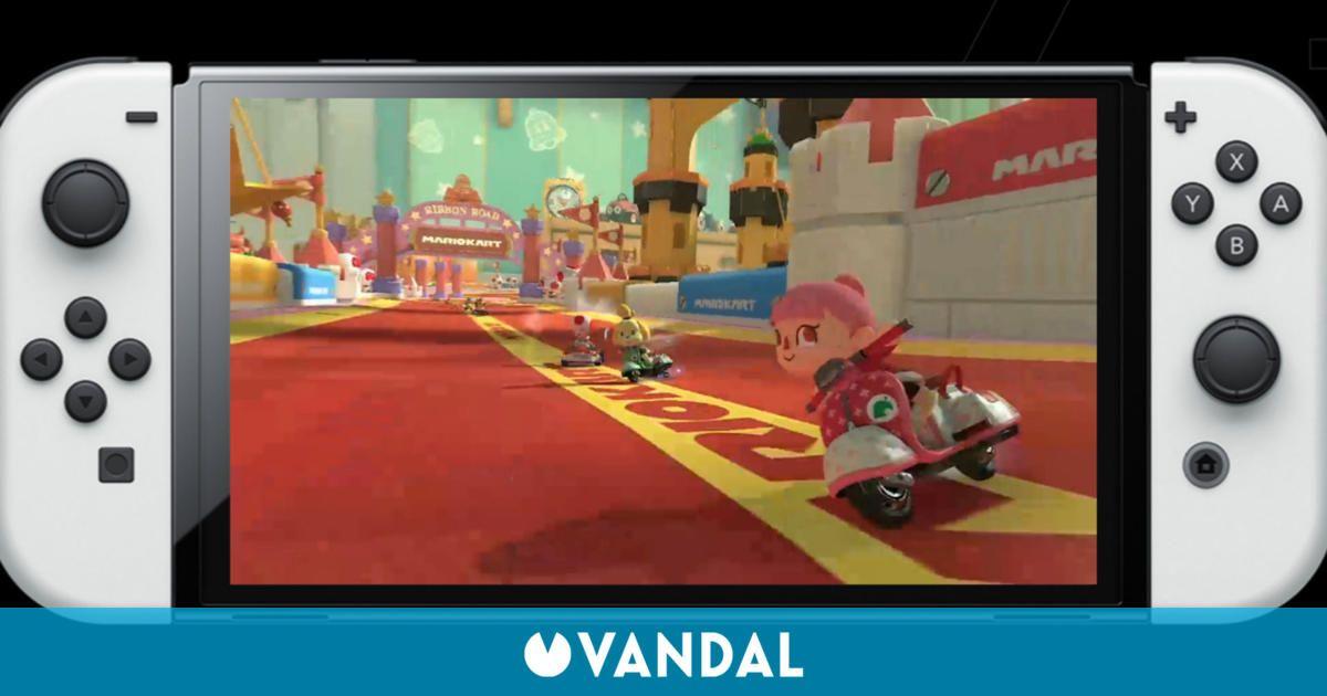 El lanzamiento de Nintendo Switch OLED en Reino Unido ha sido un éxito