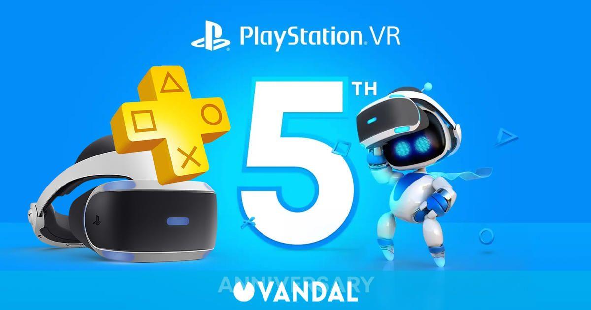 PlayStation VR cumple 5 años y lo celebrará regalando tres juegos a suscriptores de PS Plus