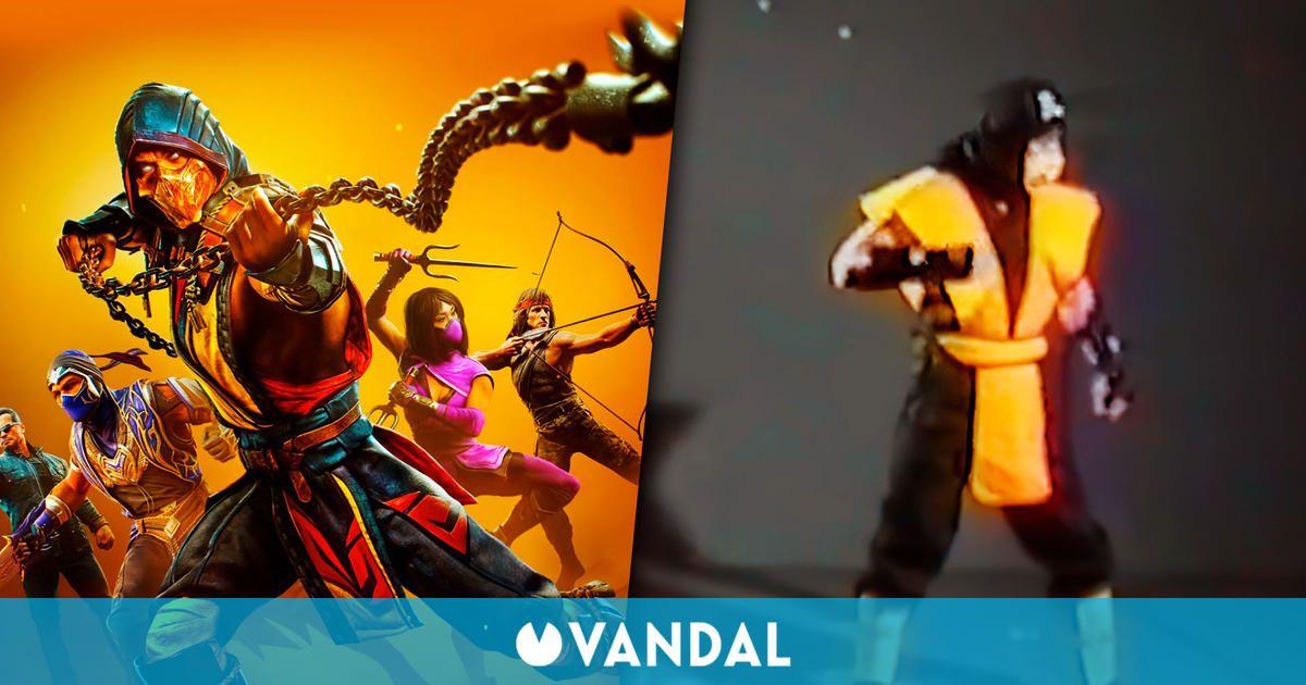 Mortal Kombat: Así se creó el famoso 'Get over here' de Scorpion en el primer juego