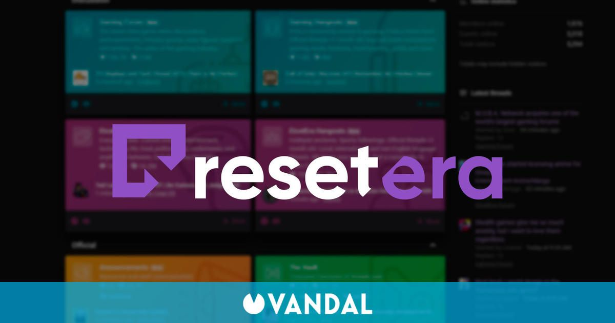 ResetEra, el conocido foro de videojuegos, es adquirido por casi 4 millones de euros