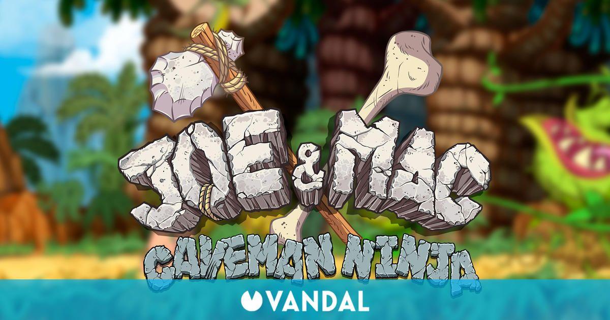 Microids anuncia un remake de Joe & Mac: Caveman Ninja para PC y consolas