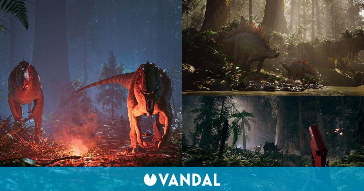 Así es The Lost Wild, un nuevo título de aventuras, terror y supervivencia con dinosaurios