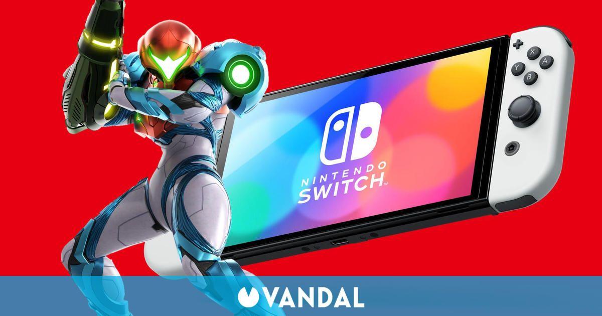 Metroid Dread se estrena en Japón con 86.000 copias y Switch OLED con 130.000 consolas