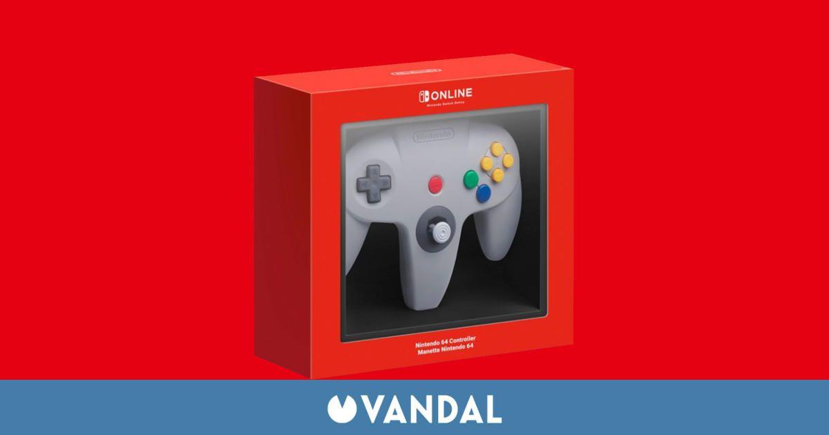 Nintendo abre las reservas del mando de Nintendo 64 para Switch