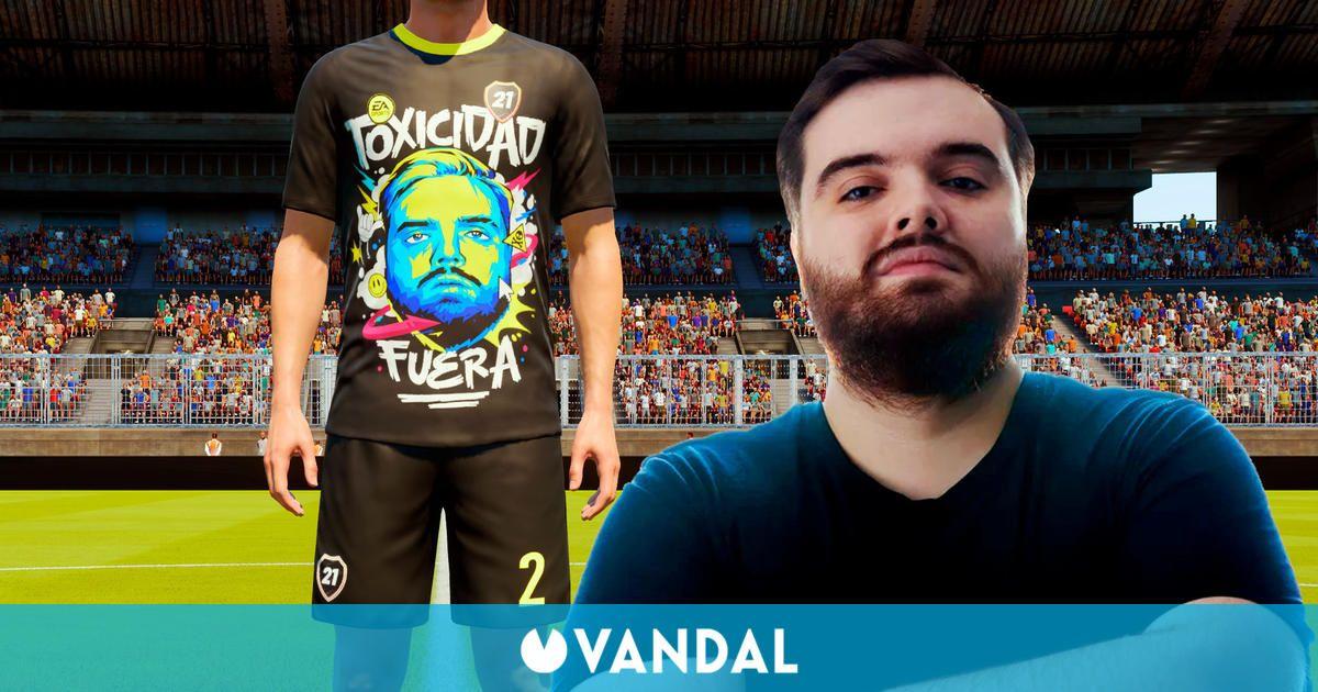 FIFA 22 presenta una equipación de FUT dedicada a Ibai Llanos y su 'toxicidad fuera'