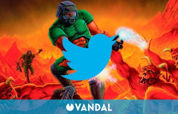 Doom funciona en todo, incluso en Twitter gracias a un 'bot'