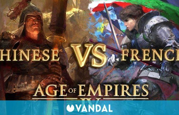 Age of Empires 4 presenta un gameplay de 38 minutos enfrentando a chinos y franceses