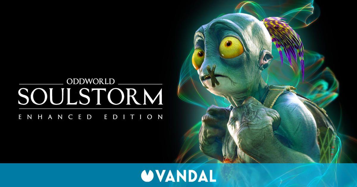 Oddworld: Soulstorm recibirá una 'Enhanced Edition' a finales de noviembre