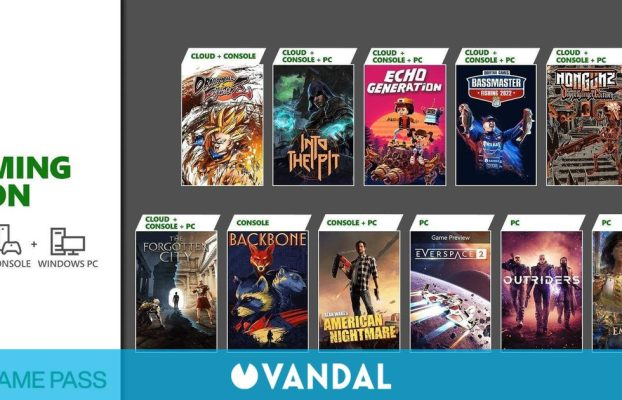 Novedades de Xbox Game Pass: Age of Empires IV, Dragon Ball FighterZ, Outriders y más