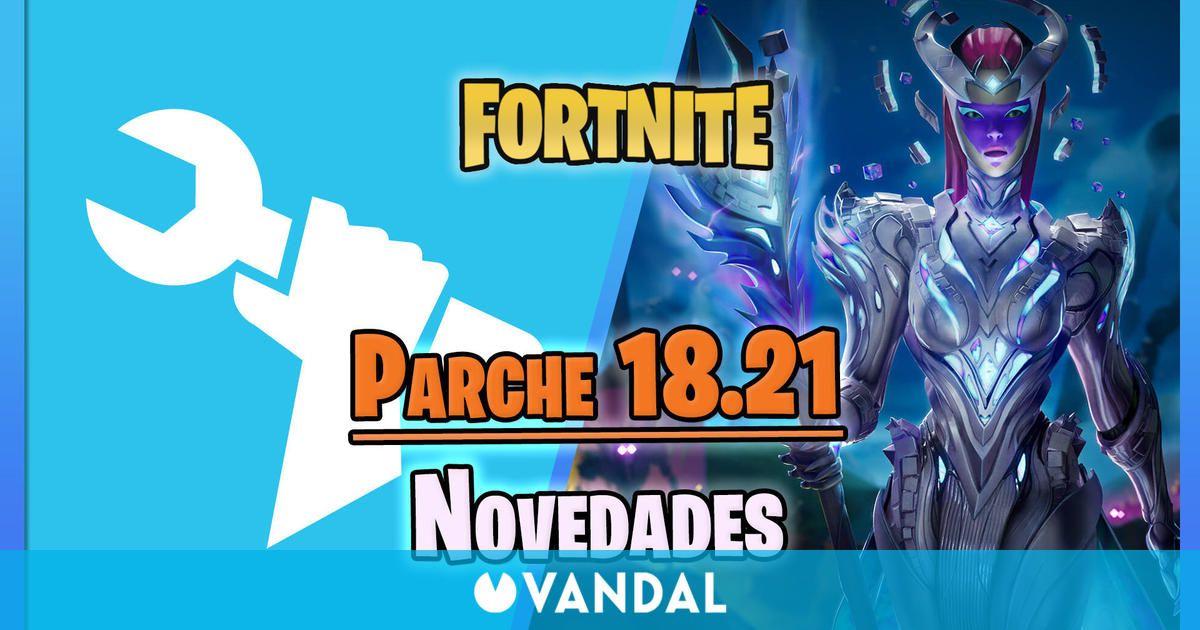 Fortnite parche 18.21: Llega la reina del cubo, nueva zona, MTL, novedades y más