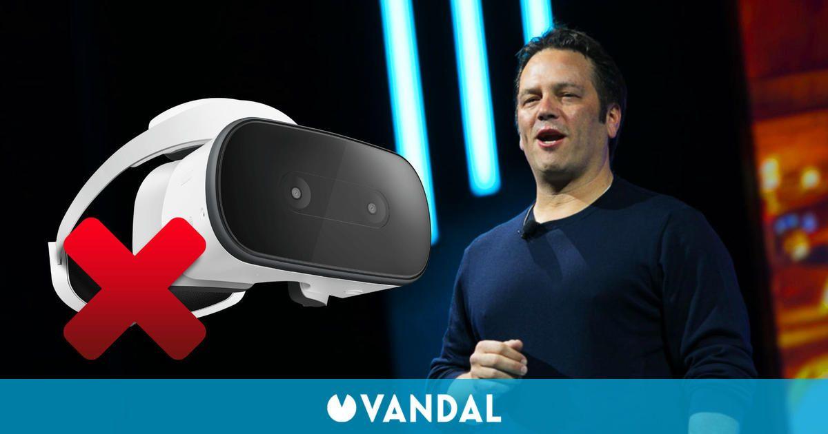 Xbox no está interesada en el hardware de VR, según Phil Spencer