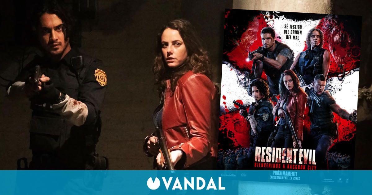 Resident Evil: Bienvenidos a Raccoon City muestra un nuevo cartel con los protagonistas