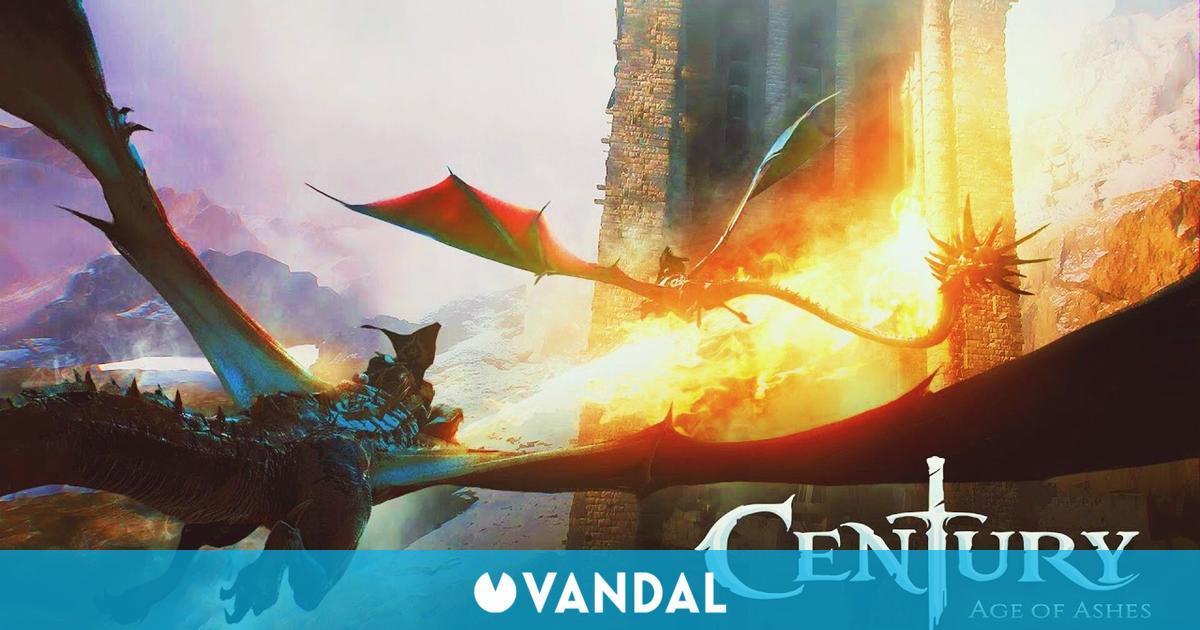 Los dragones de Century: Age of Ashes también llegarán a consolas y dispositivos móviles
