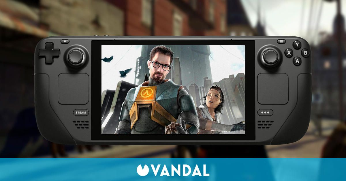 Half-Life 2 se actualiza con mejoras y se prepara para el lanzamiento de Steam Deck