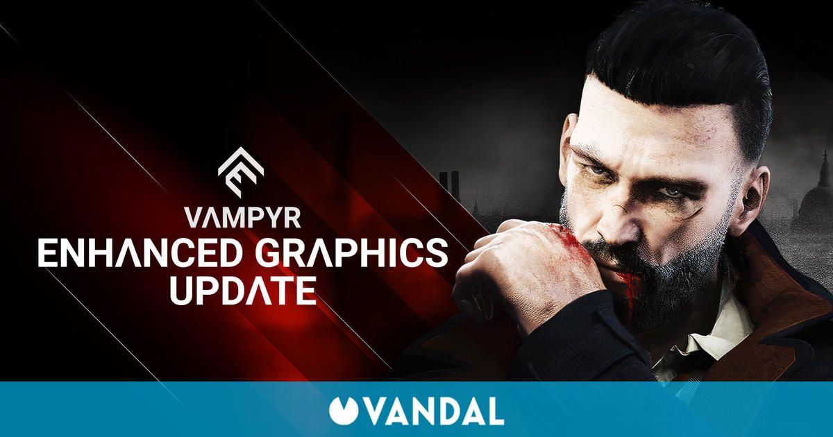 Vampyr se actualiza mejorando el rendimiento en PS5, Xbox Series, PS4 Pro y One X