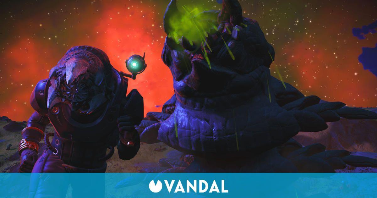 No Man's Sky añade combates contra gusanos gigantes en Expedition Four: Emergence