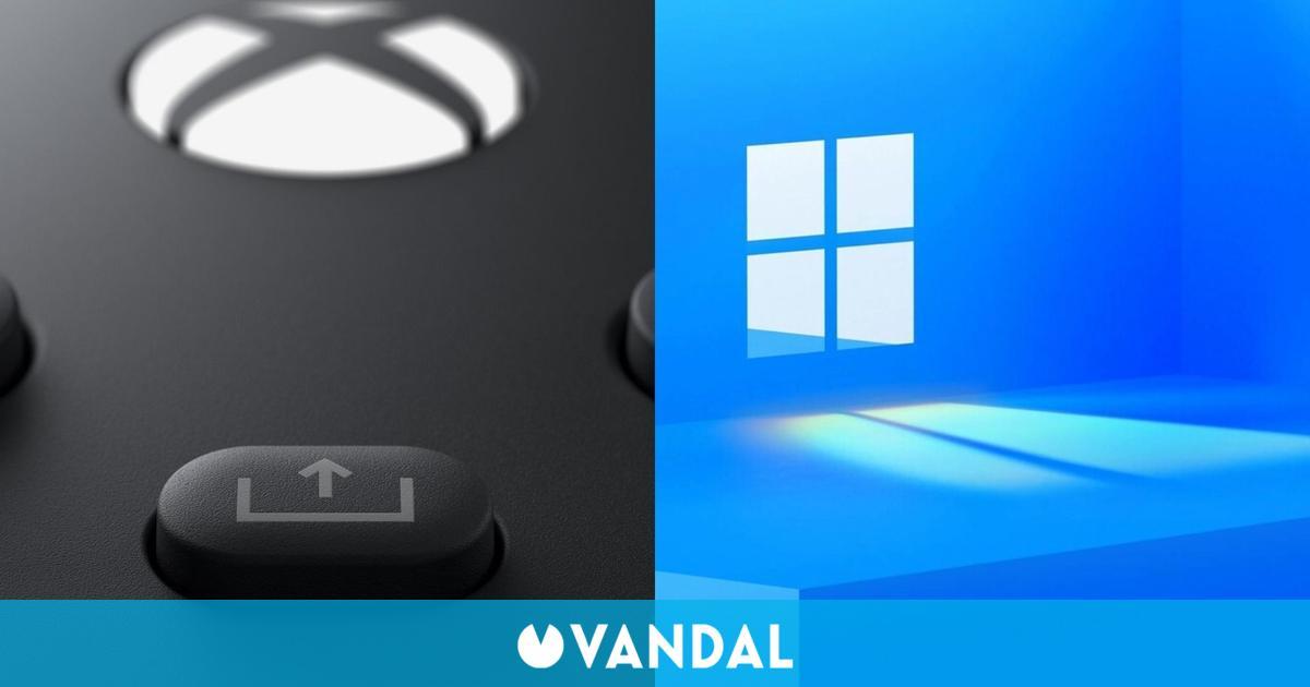 El botón Share del mando de Xbox Series X por fin funciona en Windows 11