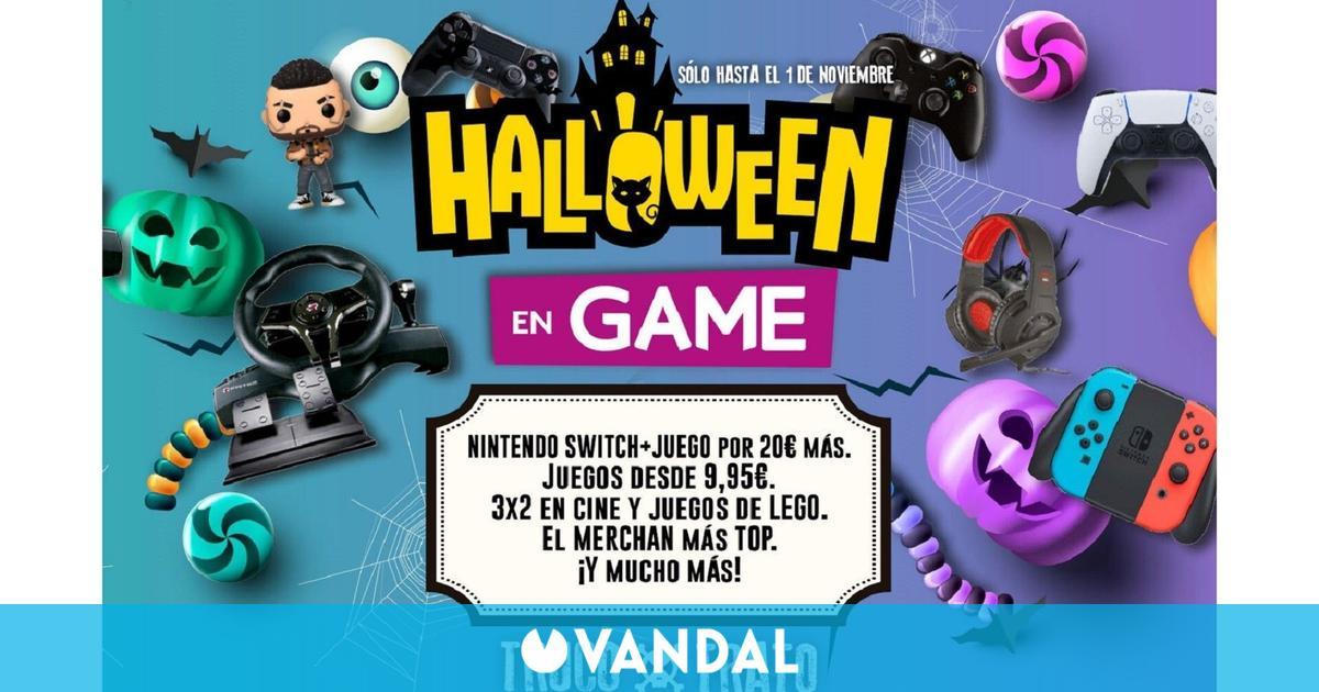 GAME despliega sus rebajas de Halloween en juegos, accesorios, cine y más