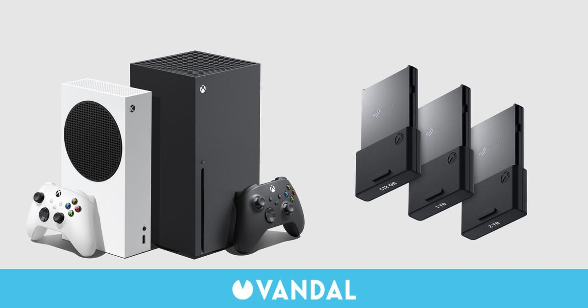 Xbox anuncia oficialmente las tarjetas Seagate de 512GB y 2 TB para Series X/S