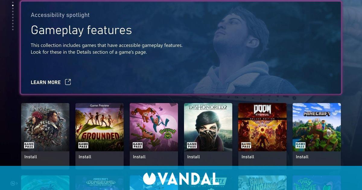 Microsoft nos presenta las nuevas funciones de accesibilidad de XSX/S y Xbox One