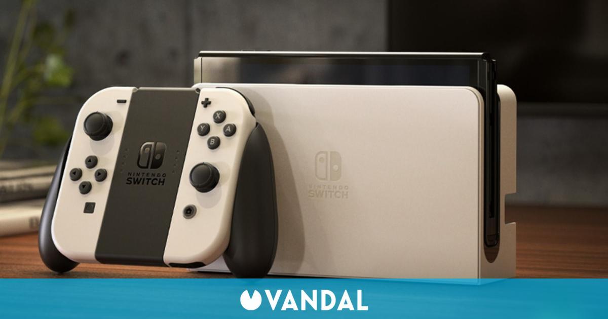Nintendo Switch OLED debuta en España con 12.000 unidades vendidas