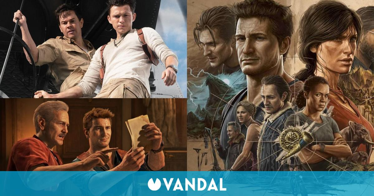 Uncharted La película: Todos los detalles y referencias a los videojuegos en el tráiler