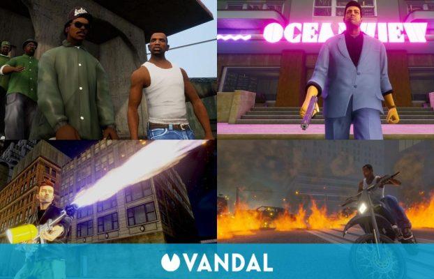 Grand Theft Auto: The Trilogy muestra su primer tráiler gameplay e imágenes