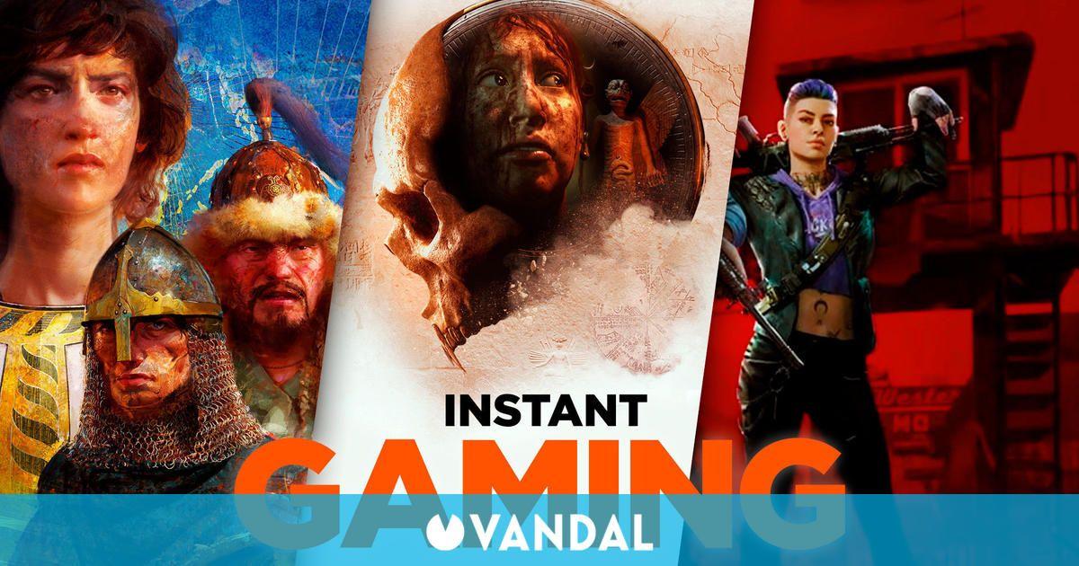 Descubre las 10 mejores ofertas de Instant Gaming para este fin de semana