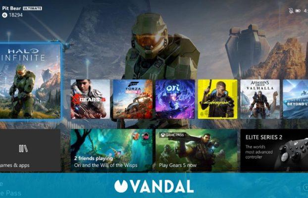 Las consolas Xbox se actualizan con interfaz 4K en Series X, Modo Noche y más