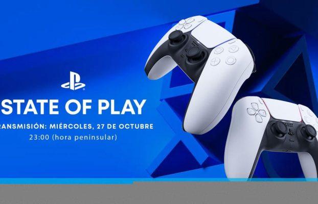 Sony celebrará un State of Play el 27 de octubre con juegos de terceros para PS5 y PS4