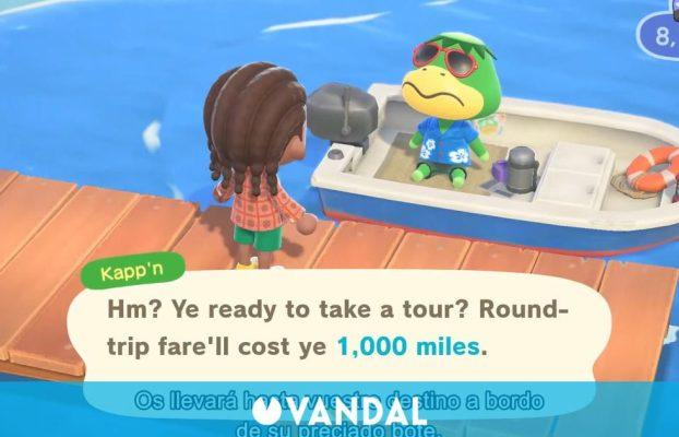 Fans de Animal Crossing: New Horizons ahorran para los altos precios de los viajes en barca