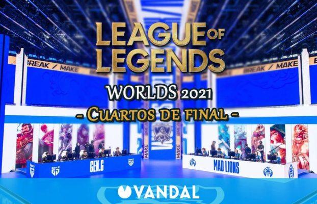 Cuartos de final de LoL Worlds 2021: Fechas, horarios y cómo verlos en directo