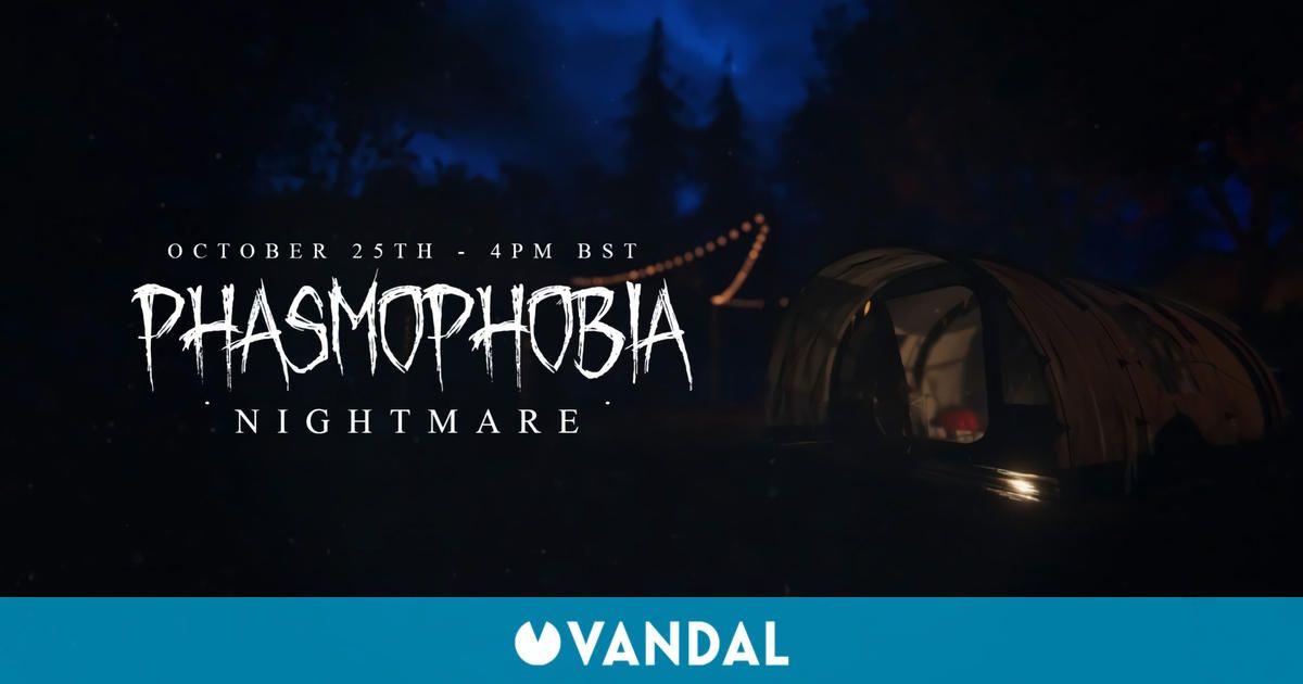 Phasmophobia recibirá mañana su gran actualización de Halloween