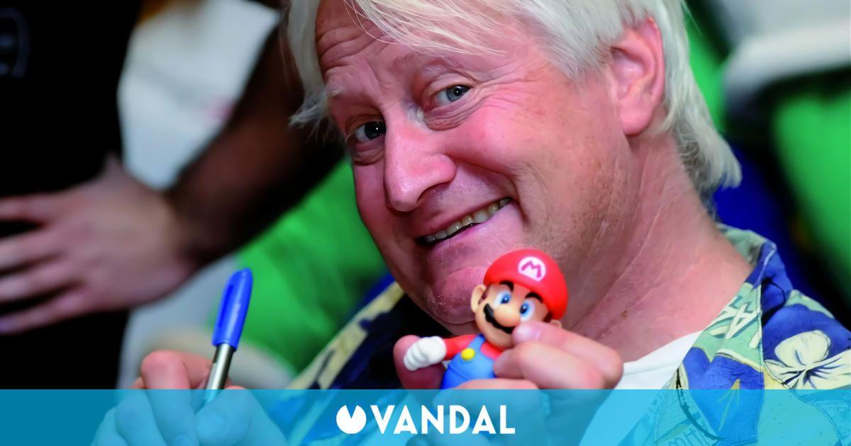 Charles Martinet quiere seguir interpretando a Mario 'hasta que se muera'