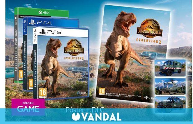 Reserva Jurassic World Evolution 2 en GAME y llévate de regalo un póster y un DLC