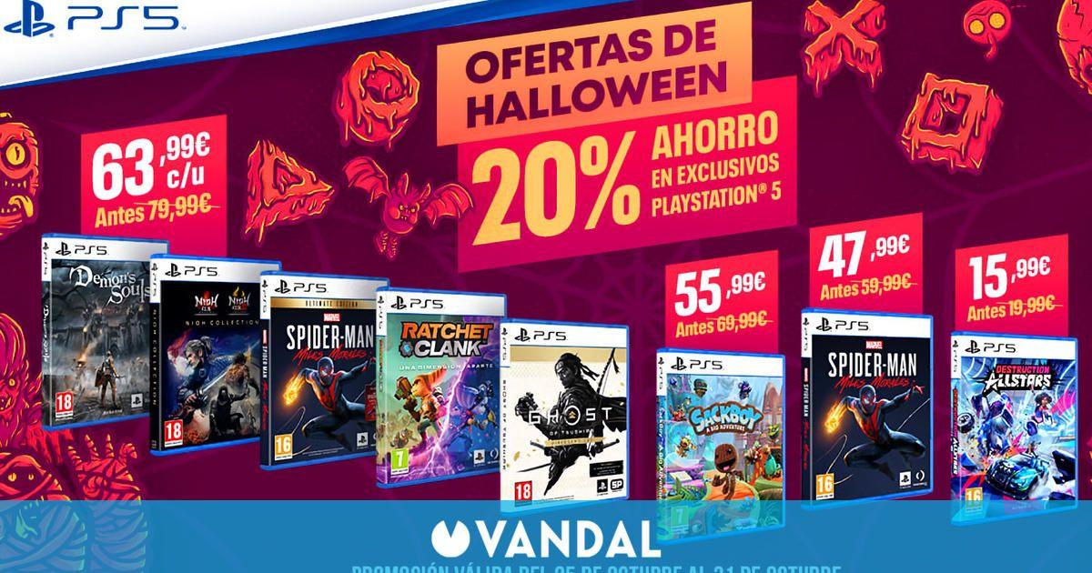 Los exclusivos de PS5 en formato físico estarán rebajados un 20% hasta el 31 de octubre