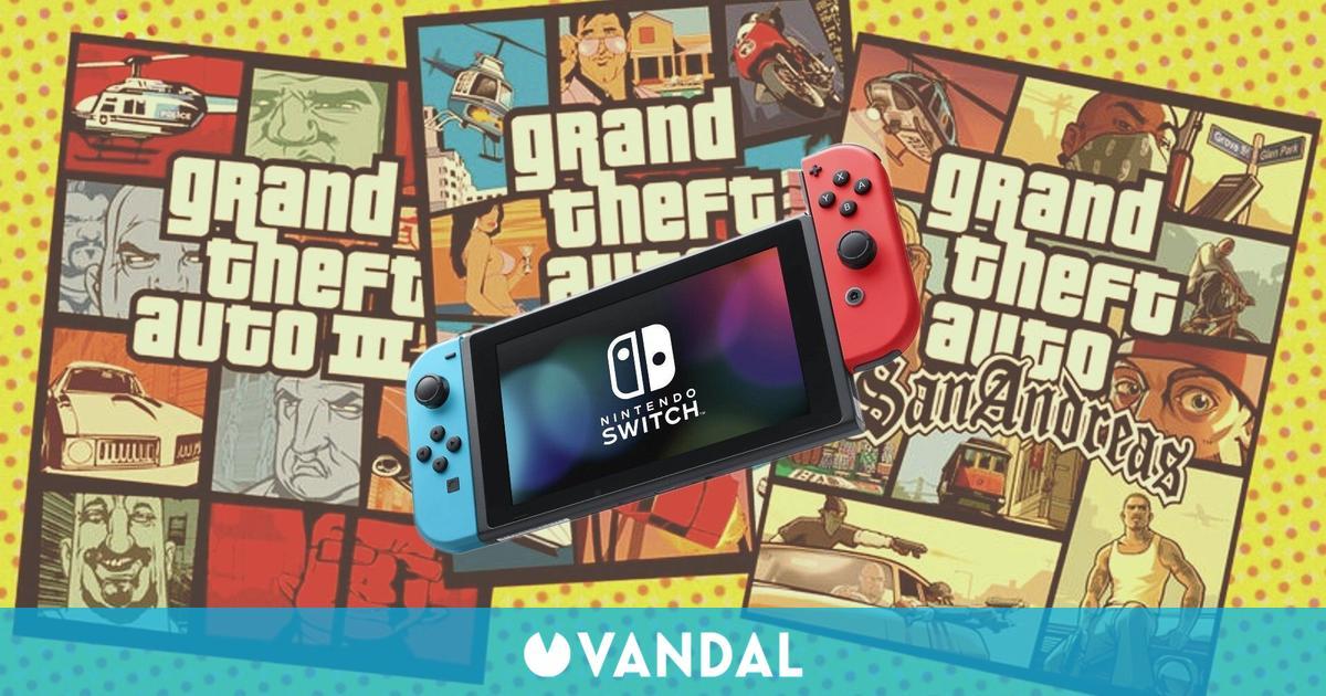GTA: The Trilogy revela su tamaño en Nintendo Switch: 25,4 GB