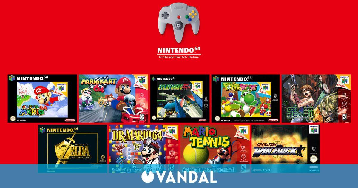 Quejas generalizadas por la emulación de Nintendo 64 en Switch Online