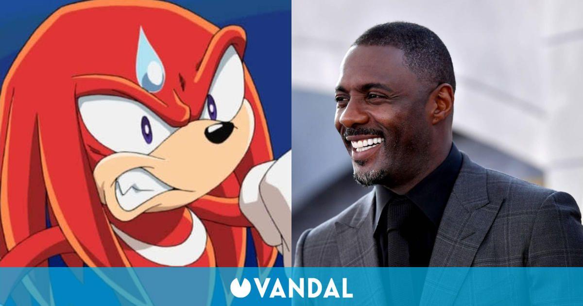 Idris Elba revela que la voz de Knuckles en Sonic La Película 2 no será sexy