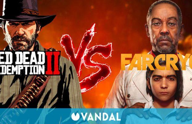 Comparan la jugabilidad de Red Dead Redemption 2 con la de Far Cry 6: ¿Qué sandbox es mejor?