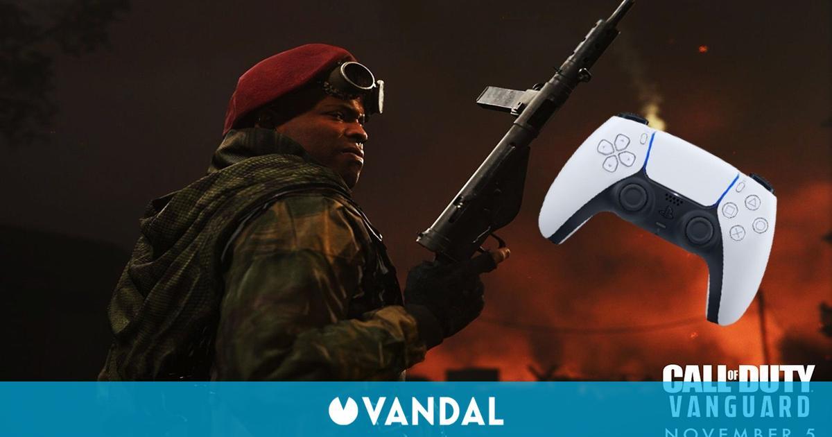 Call of Duty Vanguard revela sus características del DualSense de PS5 y nuevos operadores
