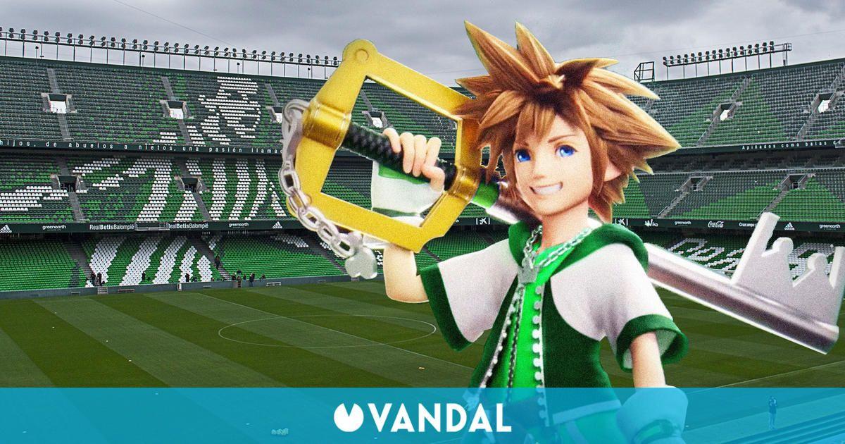 El Betis vuelve a tirar de videojuegos para su promoción: ahora Sora de Kingdom Hearts