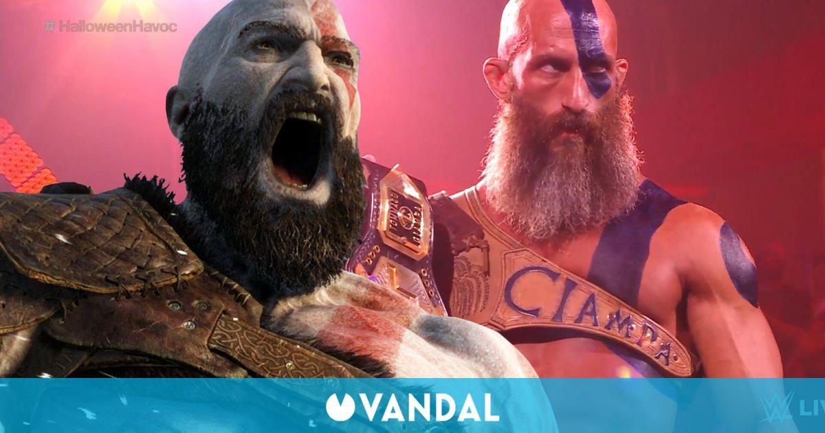 God of War se cuela en la WWE gracias al disfraz de Kratos de este luchador