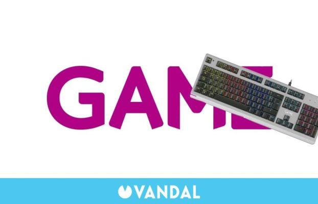 GAME y su oferta flash del día: El teclado mecánico GAME KX520 por 34,95 euros