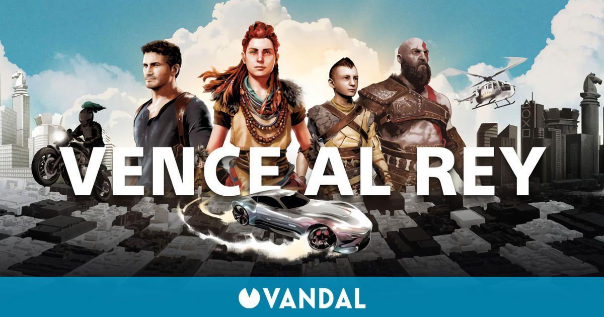 PlayStation presenta Vence al rey, un evento con premios que van desde avatares hasta una PS5